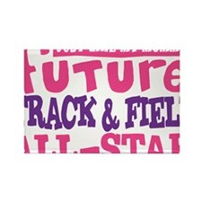 future all star GIRL Rectangle Magnet