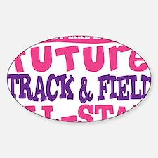 future all star GIRL Sticker (Oval)