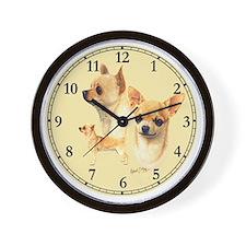Chihuahua Clock Wall Clock