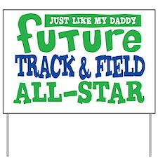 future all star BOY Yard Sign