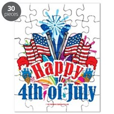 Happy-4th-of-July Puzzle