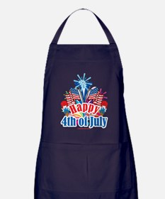 Happy-4th-of-July Apron (dark)