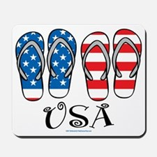 USA-Flip-Flops Mousepad