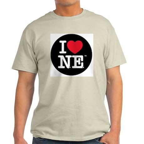 Heart Black Circle Light T-Shirt