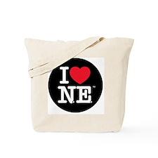 Heart Black Circle copy Tote Bag
