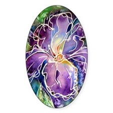 Iris! Beautiful, purple flower Decal