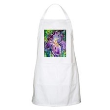 Iris! Beautiful, purple flower Apron