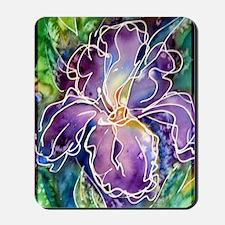 Iris! Beautiful, purple flower Mousepad