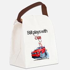 StillPlaysWithCars Canvas Lunch Bag