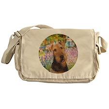 J-ORN-Garden-Airedale #1 Messenger Bag