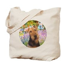J-ORN-Garden-Airedale #1 Tote Bag
