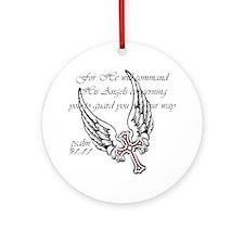 angels Round Ornament