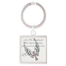 angels Square Keychain