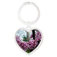 dog2-tile Heart Keychain