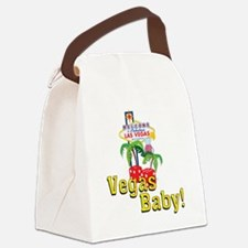 vegas baby final Canvas Lunch Bag