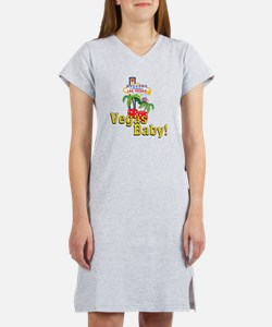 vegas baby final Women's Nightshirt