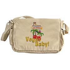 vegas baby final Messenger Bag