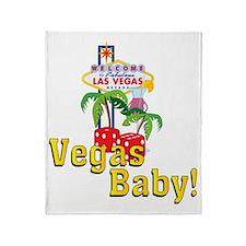 vegas baby final Throw Blanket