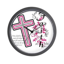 faith 2 Wall Clock