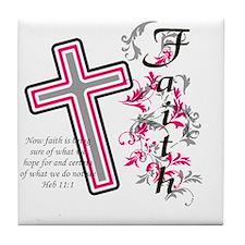 faith 2 Tile Coaster