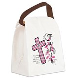 Religion Canvas Lunch Bag