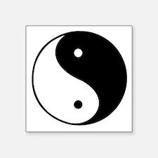"""yin-yang Square Sticker 3"""" x 3"""""""