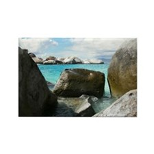 Tortola post card Rectangle Magnet