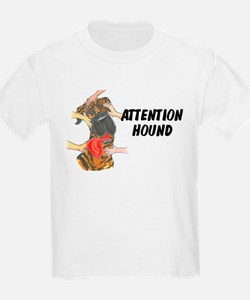 NBrdl Attention Hound Kids T-Shirt