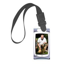 Personalizable computer screen photo frame Luggage Tag