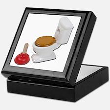 ToiletLargePlunger051411 Keepsake Box