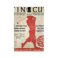 TC Vintage Poster4 Rectangle Magnet