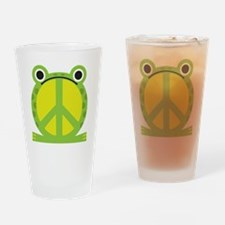 PeaceFrog Drinking Glass