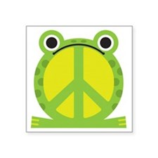 "PeaceFrog Square Sticker 3"" x 3"""