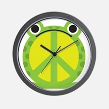 PeaceFrog Wall Clock