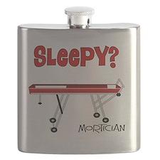 Sleepy mortician Flask
