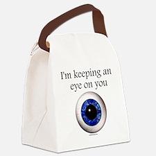 Imkeepinganeyeonyou Canvas Lunch Bag