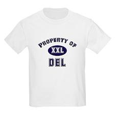 Property of del Kids T-Shirt
