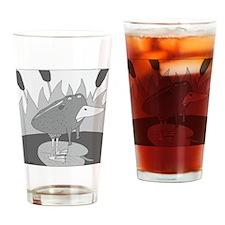 Rodney - no text Drinking Glass