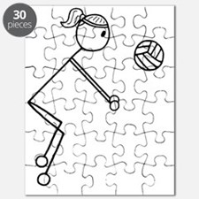 Volleyball girl clear.gif Puzzle