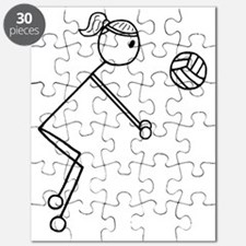 Volleyball girl clear1.gif Puzzle