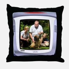 Personalizable computer screen photo frame Throw P