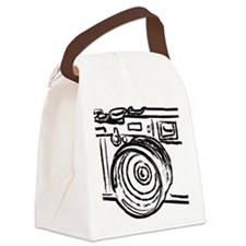 X100_black Canvas Lunch Bag