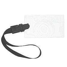 X100_white Luggage Tag