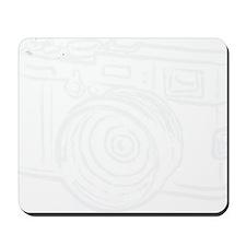 X100_white Mousepad