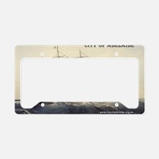 2x3 Lithograph License Plate Holder