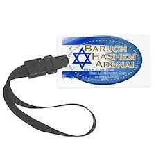 Hear O Israel Luggage Tag