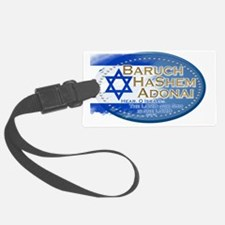 Hear O Israel Luggage Tag