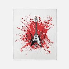Beat 4 Rock Throw Blanket