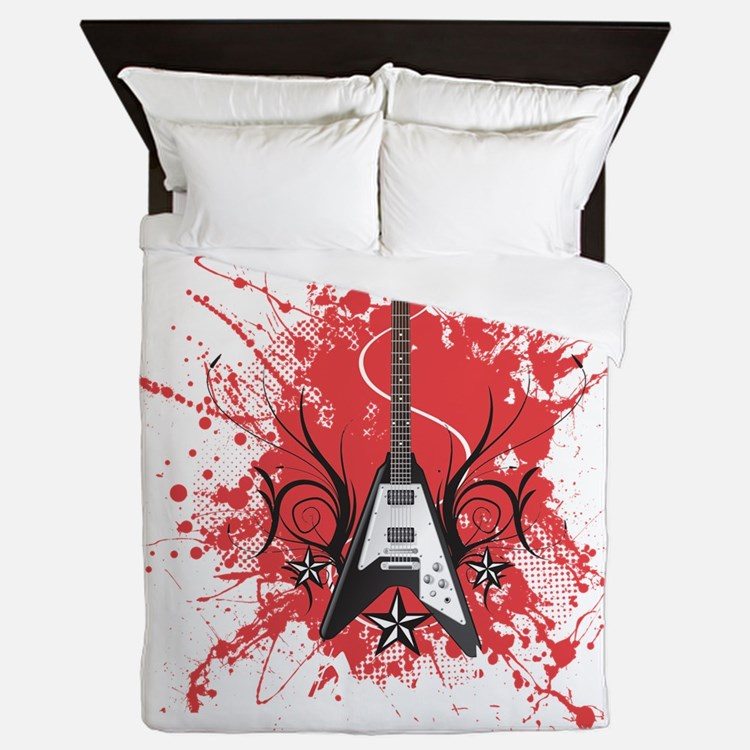 Rock And Roll Bedding Rock And Roll Duvet Covers Pillow