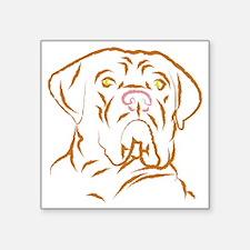 "mastifflarge Square Sticker 3"" x 3"""